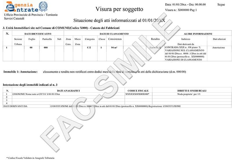 Visura catastale e planimetria catastale richiesta online - Visura storica per immobile gratis ...