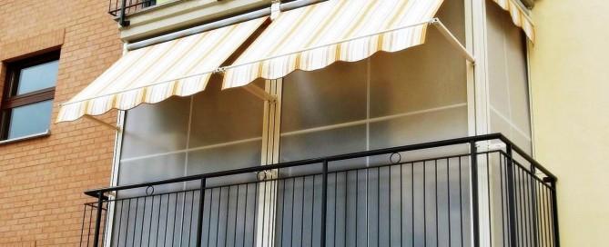chiudere il balcone trasformare il balcone in veranda