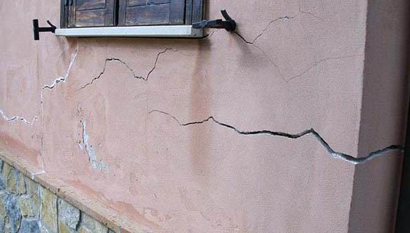 crepe nei muri, consolidamento terreni