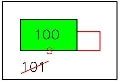 tipo mappale per fusione di particelle ed ampliamento in aderenza < 20 mq o comunque < 50% della superficie del fabbricato in mappa