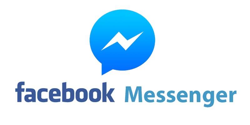 scrivici su facebook messenger