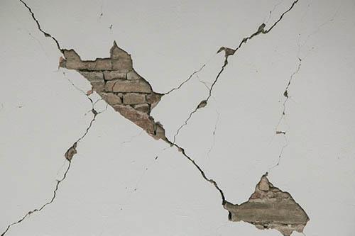crepe nei muri come riconoscerle e come risolverle